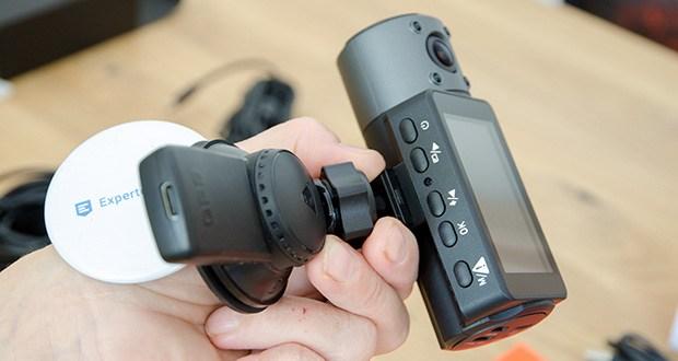 VANTRUE N4 3 Lens Dashcam im Test - GPS-Modus kann die Route und Geschwindigkeit verfolgen