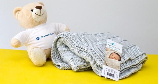 Wallaboo Babydecke Noa im Test - geprüfte Qualität