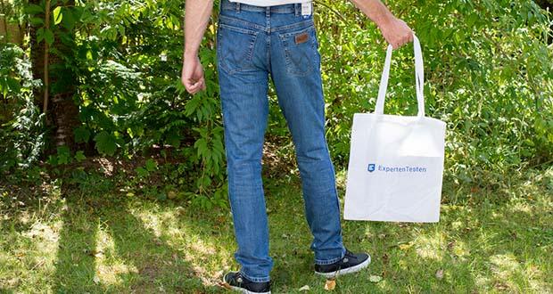 Wrangler Herren Texas Slim Jeans im Test - niedrigere Leibhöhe