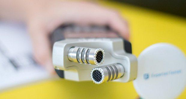 Zoom H4nPro Digital Multitrack Recorder im Test - bietet ein optimiertes X/Y-Stereomikrofon, wunderbar natürlich klingende Vorverstärker sowie ein äußerst geringes Grundrauschen