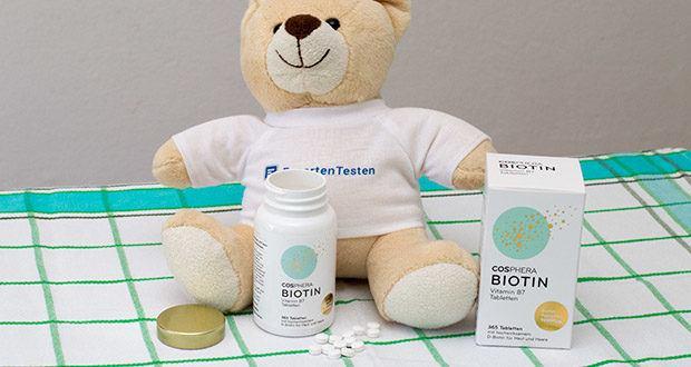 Cosphera Biotin Tabletten im Test - hergestellt in Deutschland