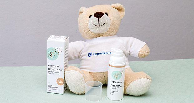 Cosphera Hyaluron Performance Serum im Test - alle Cosphera Hautpflege Produkte sind ausnahmslos dermatologisch getestet