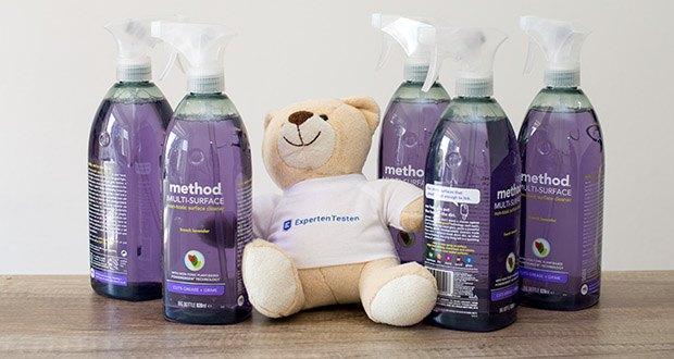 Methode Allzweck-Oberflächenreiniger Lavendel im Test - Flaschen aus 100 % recyceltem Kunststoff
