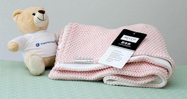 Meyco gestrickte Babydecke Winter im Test - vielseitig verwendbar