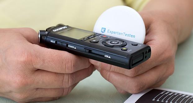 Olympus LS-P4 Hi-Res Audiorekorder im Test - Hi-Res-Musik-Player-Funktion (FLAC-, WAV-, MP3-Wiedergabe)