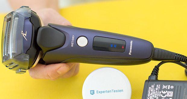 Panasonic ES-LV67-A803 Nass/Trocken-Rasierer im Test - der integrierte Bartdichten-Sensor erfasst die Bartdichte 220 Mal pro Sekunde