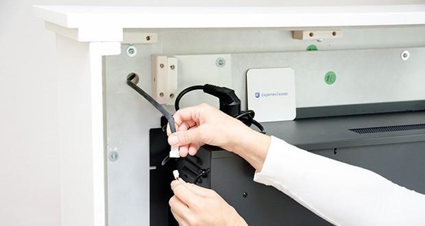 RICHEN Elektrischer Standkamin Baldur EF119B-MT119A im Test - ist immer auf Standby in Bezug auf die Raumtemperatur