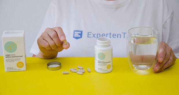 Cosphera Mönchspfeffer Kapseln im Test - ein hochkonzentriertes Qualitätsprodukt