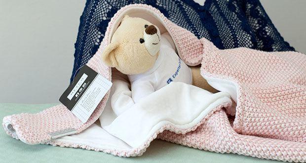 Meyco gestrickte Babydecke Winter im Test - gestrickte Babydecke