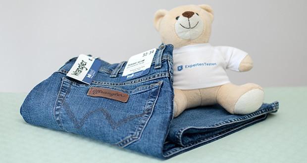 Wrangler Herren Texas Slim Jeans im Test - Baumwollmischung der Denim ist strapazierfähig und saugfähig