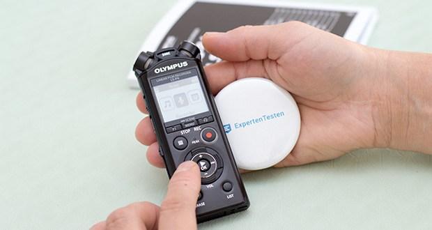 Olympus LS-P4 Hi-Res Audiorekorder im Test - vereint hohe Klangqualität mit ultimativer Benutzerfreundlichkeit