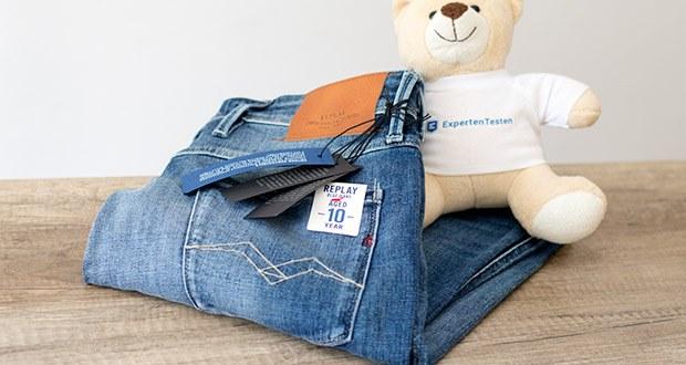 Replay Herren Anbass Jeans im Test - die coole Waschung verschönert die Optik