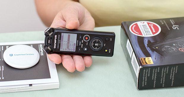 Olympus LS-P4 Hi-Res Audiorekorder im Test - ist ein funktionsreicher, hochauflösender Audiorekorder und Musikplayer in einem