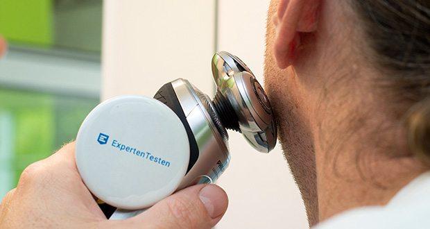 Philips SP9820/18 Elektrischer Nass- und Trockenrasierer im Test - schneidet jedes Barthaar mit maximaler Präzision direkt an der Hautoberfläche – selbst bei einem Sieben-Tage-Bart