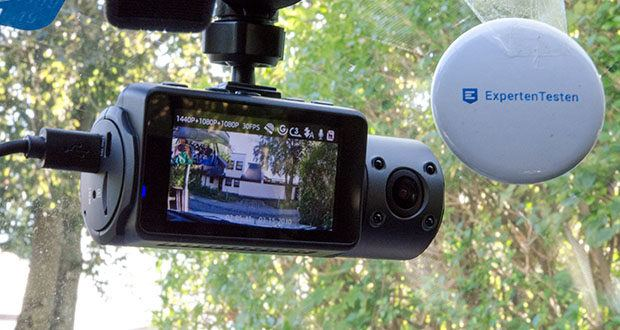VANTRUE N4 3 Lens Dashcam im Test - simultane Aufnahmen mit Auflösung bis zu 1440P+1080P+1080P in den drei Richtungen der Vorder-, Rückseite und Fahrzeugs