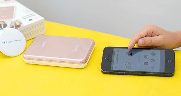 Canon Zoemini Mini Fotodrucker im Test - sofortige Ausdrucke Ihrer Schnappschüsse von Mobilgeräten