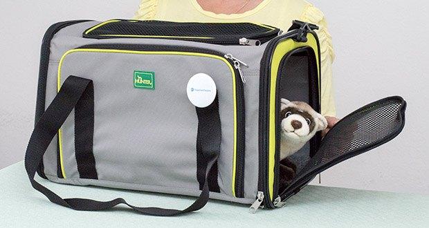 HUNTER SYDNEY Tragetasche für Hunde und Katzen im Test - ermöglicht einen komfortablen Transport und dient somit als idealer Reisebegleiter