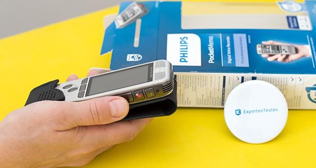 Philips DPM6000 Digitales Diktiergerät im Test - erstklassige Aufnahmequalität mit hervorragender Ergonomie
