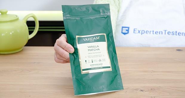 VAHDAM Vanille Matcha Grüntee Pulver im Test - authentisches Matcha-Grünteepulver direkt aus der Uji-Region in Japan