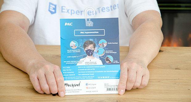 P.A.C. Premium Community Maske Kids im Test - ist bei 90° waschbar und somit mehrfach verwendbar