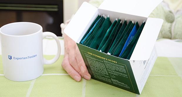 VAHDAM 15 Teesorten Probierset im Test - 15 Luxus-Pyramiden-Teebeutel, einzeln versiegelt und in einer schönen Präsentationsbox verpackt