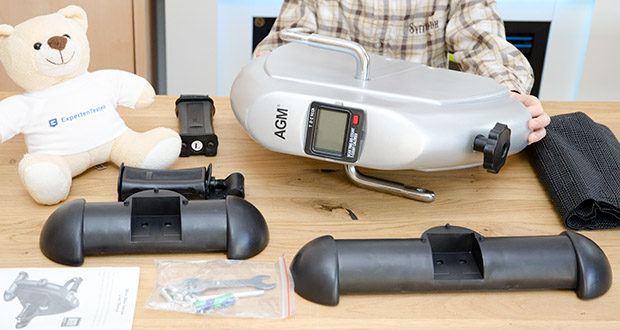 himaly Minibike Handergometer im Test - rutschfeste Konstruktion