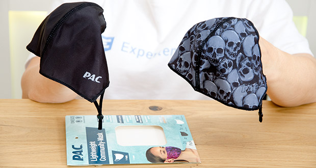 P.A.C. Community Lightweight Maske Adult im Test - mit nur 8g extra leicht