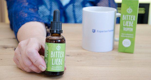 BitterLiebe Bitterstoffe Tropfen im Test - enthalten nur die wertvollsten Bitterstoffe aus 15 erlesenen Naturkräutern