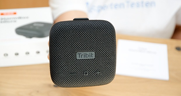 Tribit Stormbox Micro Bluetooth Lautsprecher im Test - passt in jede Hand und erzeugt einen lauten und klaren Klang mit einem tiefen Bass