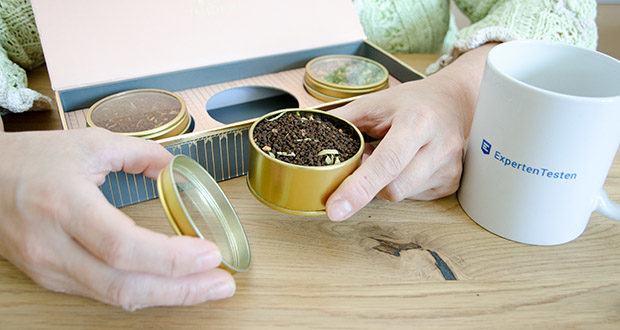 VAHDAM Sortiertes 3 Tee-Geschenkset im Test - spezieller Safran Masala Chai