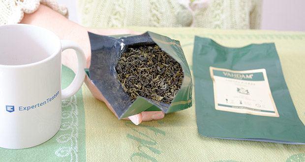 VAHDAM Grüne Teeblätter aus dem Himalaya im Test - 100% natürliche & grüne Teeblätter