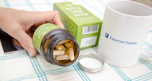 BitterLiebe Kapseln 90 Stk im Test - neben vielen wertvollen Bitterstoffen enthalten BitterLiebe Kapseln zusätzlich noch Calcium aus der Rotalge