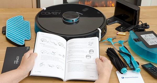 Cecotec Conga 5490 Saugroboter im Test - App für Smartphone, mit der Sie Ihren Roboter steuern können, indem Sie die Reinigungsmodi auswählen, die Reinigung programmieren, die Wischen- und Saugleistung auswählen und die Reinigungsverlauf anzuschauen