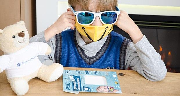 P.A.C. Community Lightweight Maske Kids im Test - einfach aufziehen