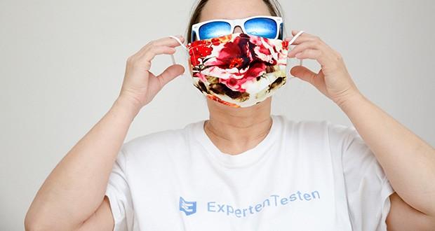 P.A.C. Premium Community Maske Adult im Test - dank des flexiblen Nasenbügels lässt sich die Premium Community-Maske ideal auf jede Nasen- und Gesichtsform anpassen