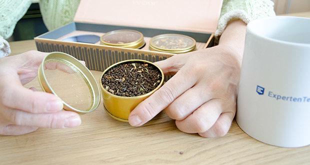 VAHDAM Sortiertes 3 Tee-Geschenkset im Test - Earl Grey Masala Chai mit dem erhebenden Geschmack
