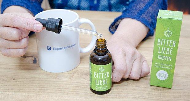 BitterLiebe Bitterstoffe Tropfen im Test - frei von Zusätzen