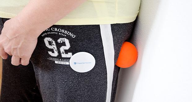 Captain LAX Massageball im Test - ist für die Massage des gesamten Körpers geeignet und lässt sich leicht anwenden
