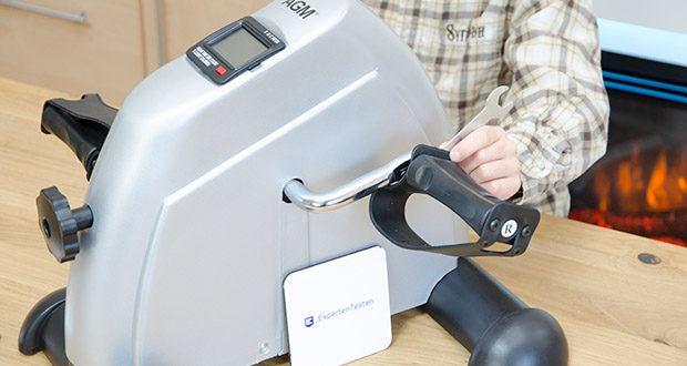 himaly Minibike Handergometer im Test - klein und praktisch