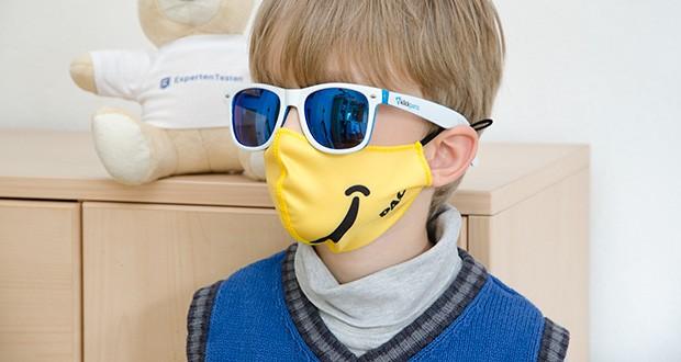 P.A.C. Community Lightweight Maske Kids im Test - die perfekte Passform erleichtert das Atmen und Reden