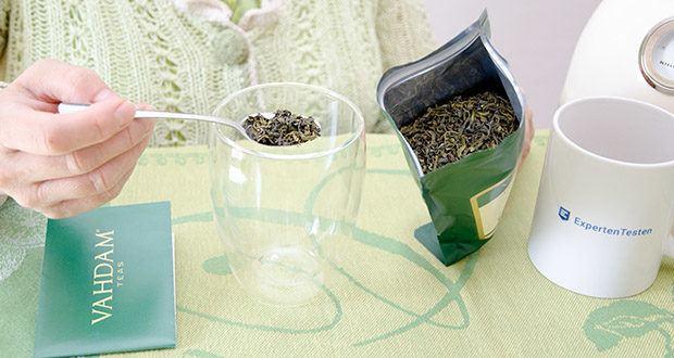 VAHDAM Grüne Teeblätter aus dem Himalaya im Test - Low-Caffeine Inhalt Tee, den man jederzeit am Tag genießen kann