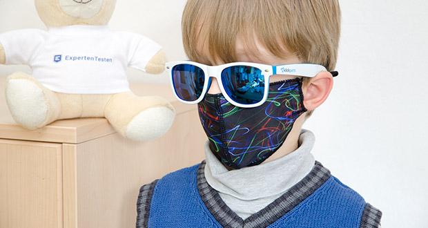 P.A.C. Community Lightweight Maske Kids im Test - OEKO-TEX 100; Premium Qualität; nachhaltig produziert