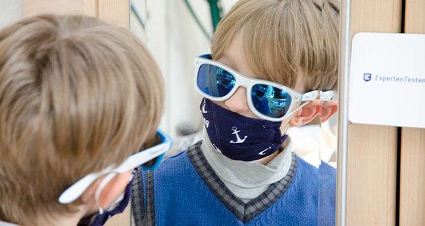 P.A.C. Premium Community Maske Kids im Test - die perfekte Passform erleichtert das Atmen und Reden