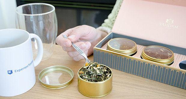 VAHDAM Sortiertes 3 Tee-Geschenkset im Test - befriedigen Sie Ihre Sinne mit den einzigartigen Aromen süßen Himalaya Detox Green Tea