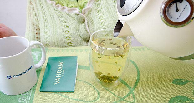 VAHDAM Grüne Teeblätter aus dem Himalaya im Test - trinken Sie täglich 3 Tassen Tee und spüren Sie den Unterschied