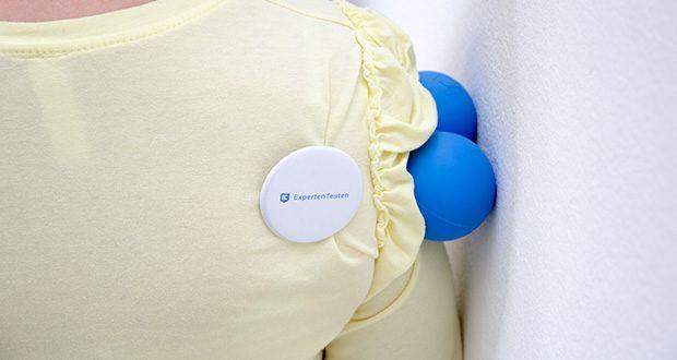 Zen Core Massage Duoball im Test - verspannte Stellen für mindestens 8 Sekunden aber höchstens 1 Minute massieren