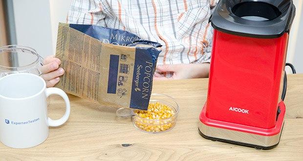 Aicook Popcornmaschine 1400W im Test - gesundlicher und wirtschaftlicher als die Mikrowellen