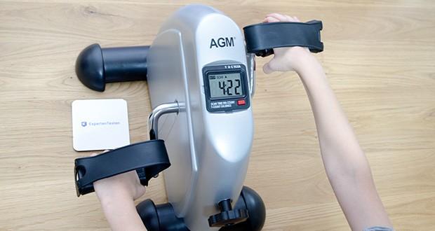 himaly Minibike Handergometer im Test - Sie können Ihre Arme oder Beine trainieren