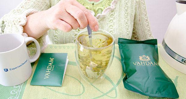 VAHDAM Grüne Teeblätter aus dem Himalaya im Test - genießen Sie die Frische & den Charakter eines Langblatttees, der direkt in Indien angebaut, verpackt & versendet wird