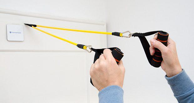 himaly Gymnastikband Set im Test - ideal für Rehabilitation, Physiotherapie, Fitness, Körper- und Muskeltraining